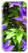 Purple Rush IPhone Case
