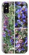 Purple Sage Collage IPhone Case