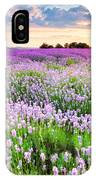 Purple Sea IPhone Case