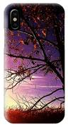 Purple Skies And Walnut Trees IPhone X Case