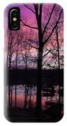Purple Sunset On Smith Mt. Lake IPhone Case