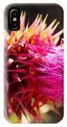 Purple Thistle IPhone Case