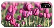 Purple Tulip Standouts IPhone Case