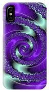 Purple Vortex IPhone Case