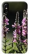 Purple Wild Flowers - 1 IPhone Case