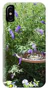 Purple Wild Flowers 1 IPhone Case