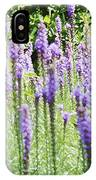 Purple Wild Flowers 2 IPhone Case