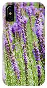 Purple Wild Flowers3 IPhone Case