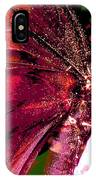 Purple Wings Two IPhone X Case