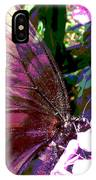Purple Wings IPhone X Case