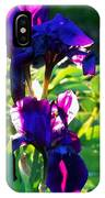 Purplr Iris Shines IPhone Case