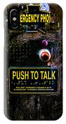 Push To Talk IPhone Case