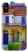 Puyallup Mansion In Washington State IPhone Case