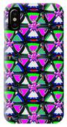 Pyramid Dome Triangle Purple Elegant Digital Graphic Signature   Art  Navinjoshi  Artist Created Ima IPhone Case