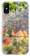 Pyramid Houses In Fall IPhone Case