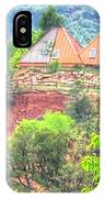 Pyramid Houses In Spring II IPhone Case