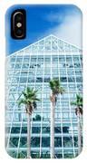 Pyramid, Moody Gardens, Galveston IPhone Case