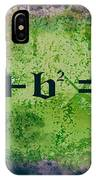 Pythagorean Theorem IPhone Case
