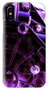 Quadrent Purple IPhone Case