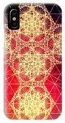 Quantum Cross Hand Drawn IPhone Case