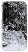 Quartet In The Snow IPhone Case