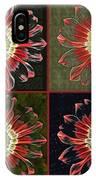 Quatro Floral - 0102cba IPhone Case