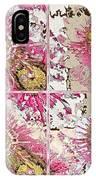 Quatro Floral - 22a IPhone Case