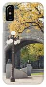 Bridge - Quebec Canada IPhone Case