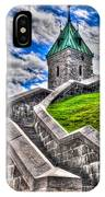 Quebec City Fortress Gates IPhone Case