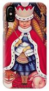 Queen Alice, 2008 Oil And Tempera On Panel IPhone Case