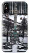 Queen City Winter Wonderland After The Storm Series 0026 IPhone Case