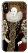 Queen Elizabeth I (1533-1603) IPhone Case