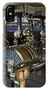 Queen Mary Ocean Liner Bridge 01 IPhone Case