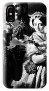Queen Victoria & Son IPhone Case