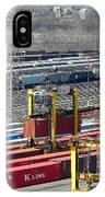 Queensgate Yard Cincinnati Ohio IPhone Case