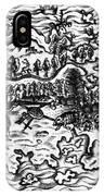 Queiros Voyages, 1613 IPhone Case