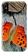 Question Mark Butterfly IPhone Case