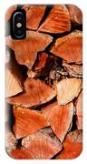 Quick Trick Wood Stack IPhone Case