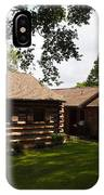 Quiet Cabin On A Hill IPhone Case