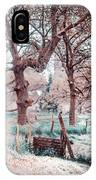 Quiet Place. Nature In Alien Skin IPhone Case