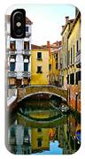 Quiet Venice Morning IPhone Case