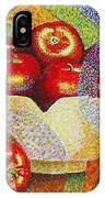 quilted Apples IPhone Case