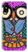 Quilted Dr Owl IPhone Case
