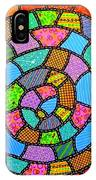 Quilted Spiral Snake IPhone Case