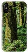 Quinault Rainforest IPhone Case