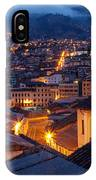 Quito Old Town At Night IPhone Case