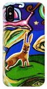 Rabbits At Night IPhone Case