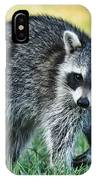 Raccoon Buddy IPhone Case