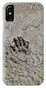 Raccoon Print IPhone Case