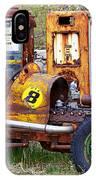 Race Car Final Pit Stop IPhone Case